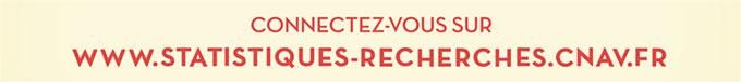 Connectez-vous sur le site www.statistiques-recherches.cnav.fr